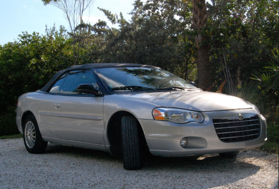 2005 Chrysler Sebring Owners Manual