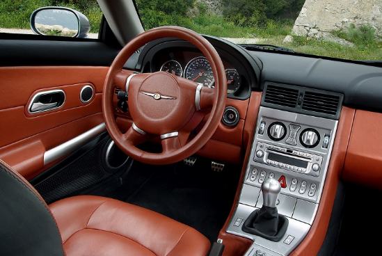 2007 Chrysler Crossfire Interior and Redesign