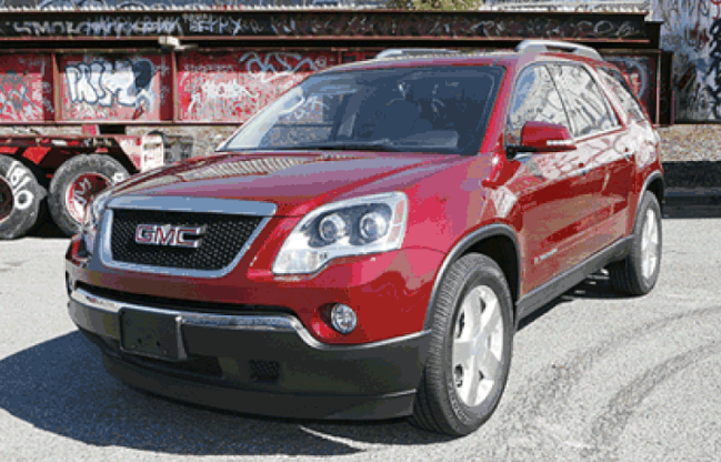 2007 GMC Acadia Owners Manual