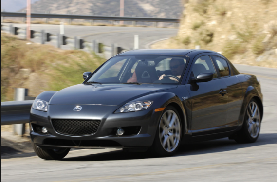 2008 Mazda RX-8 Owners Manual