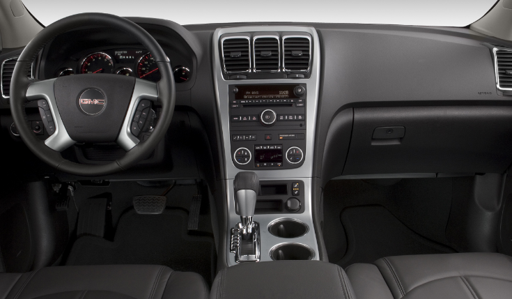 2009 GMC Acadia Interior and Redesign