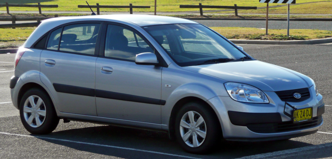 2009 Kia Rio Owners Manual