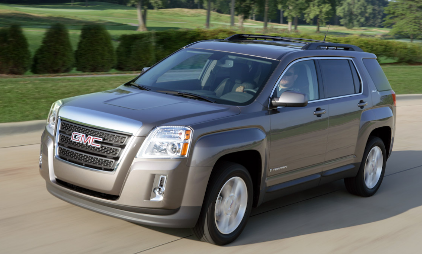2010 GMC Terrain Owners Manual