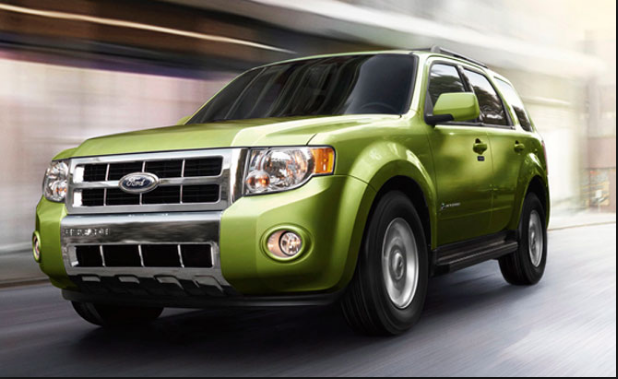 2012 Ford Escape Hybrid Owners Manual