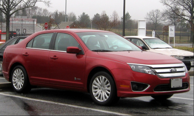 2012 Ford Fusion Hybrid Owners Manual