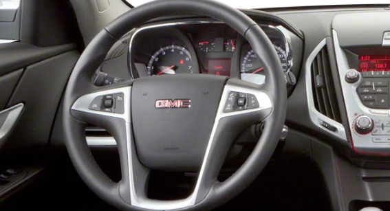 2012 GMC Terrain Interior and Redesign