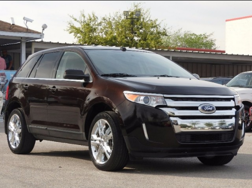 2013 Ford Edge Owners Manual