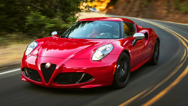 2015 Alfa Romeo 4C Owners Manual