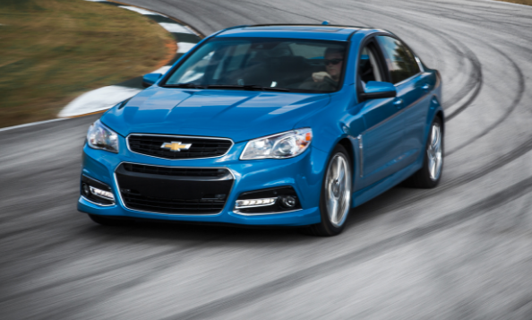 2015 Chevrolet SS Owners Manual