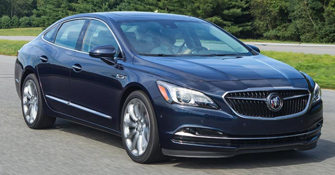 2017 Buick LaCrosse Owners Manual