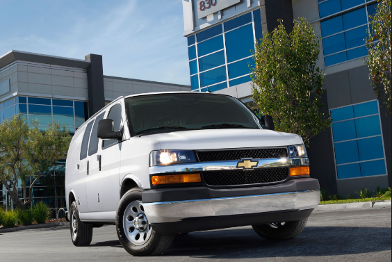 2017 Chevrolet Express 2500 Owners Manual