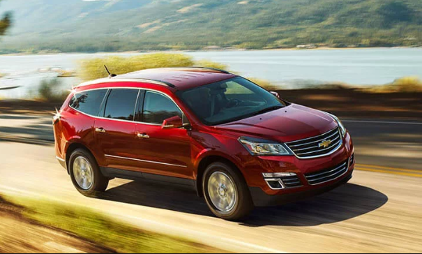 2017 Chevrolet Traverse Owners Manual