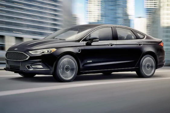 2017 Ford Fusion Hybrid Owners Manual