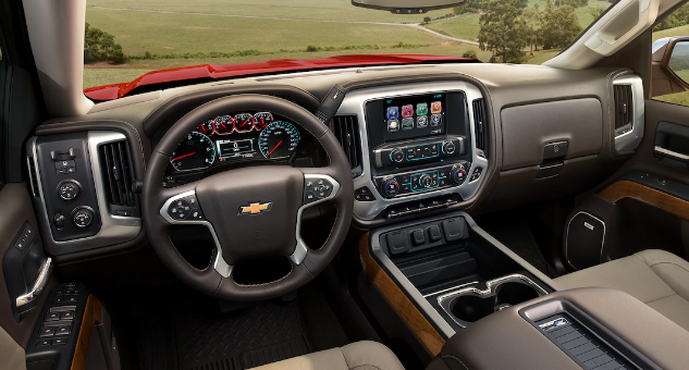 2018 Chevrolet Silverado 1500 Interior and Redesign