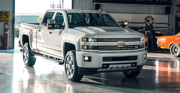 2018 Chevrolet Silverado 2500 Owners Manual