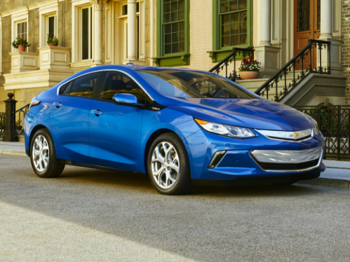 2018 Chevrolet Volt Owners Manual