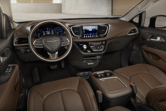 2018 Chrysler Pacifica Interior and Redesign