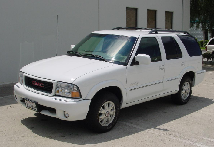 1999 GMC Envoy Owners Manual
