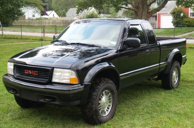1999 GMC Sonoma Owners Manual