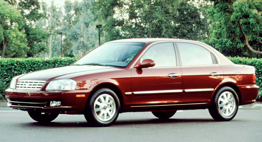 2001 Kia Optima Owners Manual