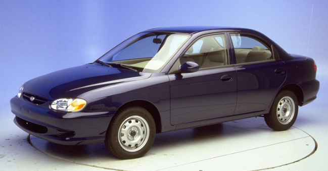 2001 Kia Sephia Owners Manual