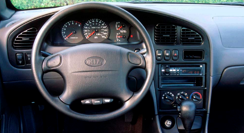 2001 Kia Sephia Interior and Redesign