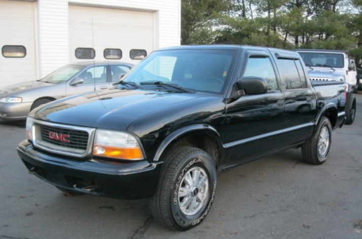 2002 GMC Sonoma Owners Manual