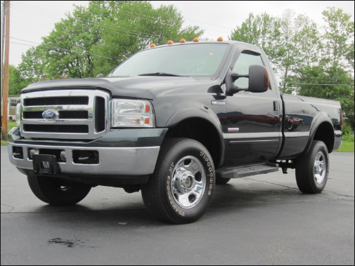 2007 Ford F-350 Owners Manual