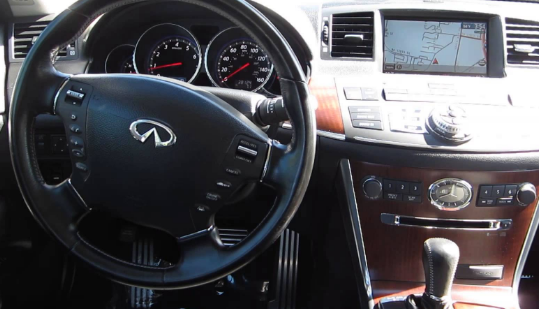 2008 Infiniti M45 Interior and Redesign