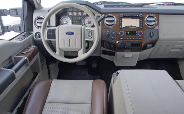 2009 Ford F-250 Interior and Redesign