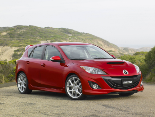 2010 Mazda Speed 3 Owners Manual