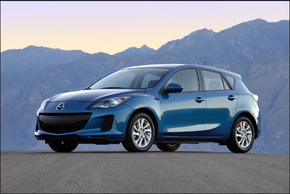 2012 Mazda speed 3 Owners Manual