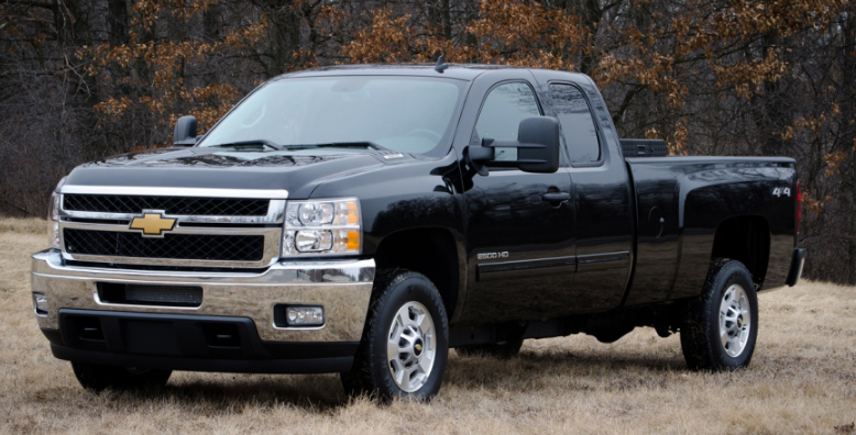 2013 Chevrolet Silverado 2500 Owners Manual