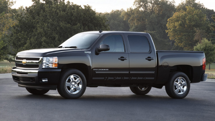 2013 Chevrolet Silverado Hybrid Owners Manual