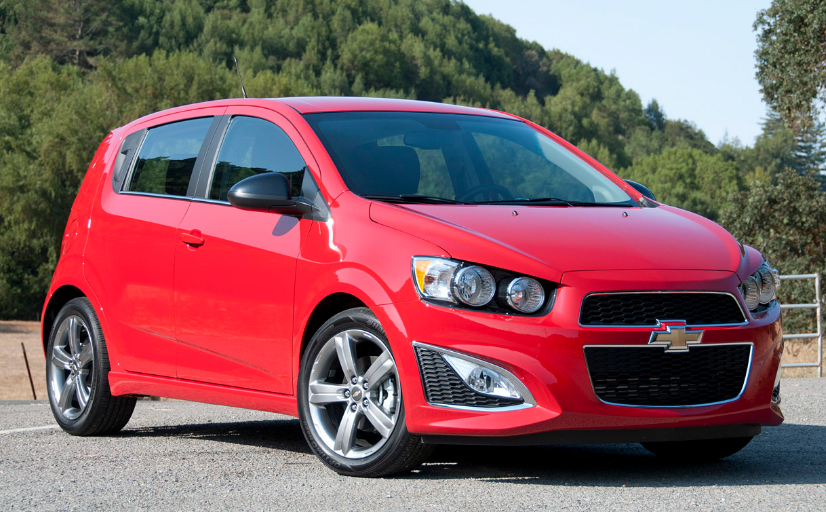 2013 Chevrolet Sonic RS Owners Manual