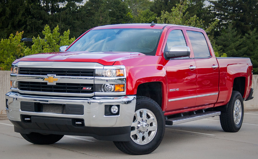 2014 Chevrolet Silverado 2500 Owners Manual
