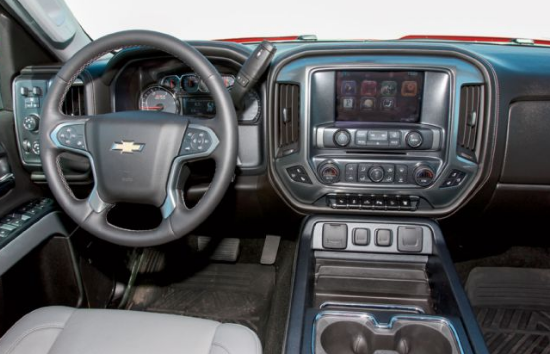 2015 Chevrolet Silverado 2500 Interior and Redesign