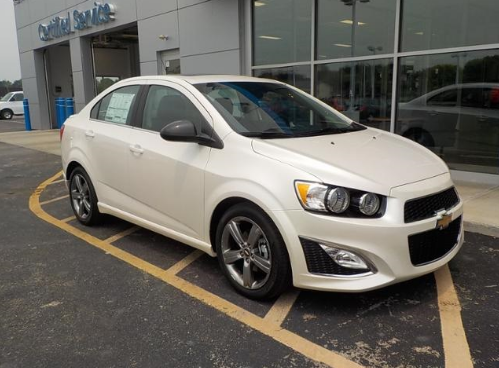 2015 Chevrolet Sonic Owners Manual