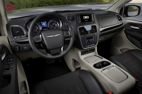 2015 Chrysler Town & Country Interior and Redesign