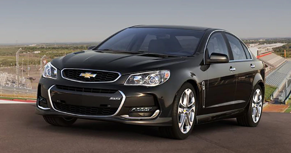 2016 Chevrolet SS Owners Manual