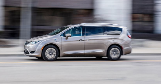 2017 Chrysler Pacifica Hybrid Owners Manual