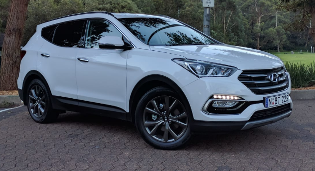 2017 Hyundai Santa Fe Owners Manual