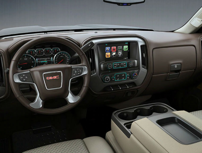 2018 GMC Sierra 1500 Interior and Redesign