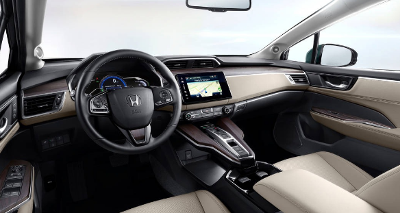 2018 Honda Clarity Fuel Cell Interior and Redesign