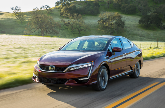 2018 Honda Clarity Fuel Cell Owners Manual