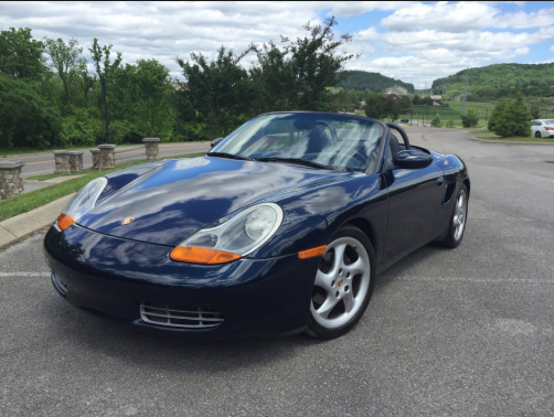 2000 Porsche Boxster Owners Manual