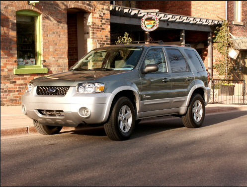 2005 Ford Escape Hybrid Owners Manual