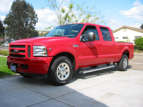 2005 Ford F-250 Owners Manual