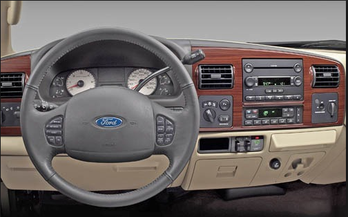 2005 Ford F-350 Interior and Redesign