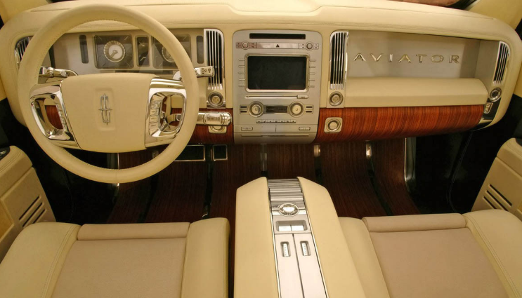 2005 Lincoln Aviator Interior and Redesign